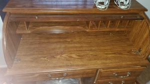 Wood desk for Sale in Frederick, MD