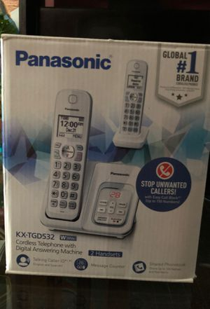 (2) Cordless Home phones for Sale in Washington, DC