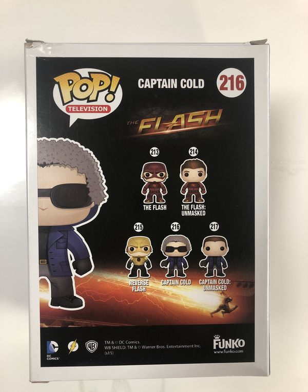 Funko Pop! Flash Captain Cold Collectible Vinyl Figure #216