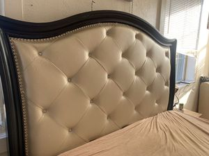 Queen Bed Frame (Mattress not included) for Sale in Springdale, PA