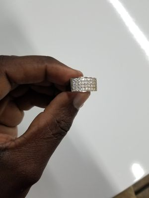 Real silver ring size 8 can fit 9 for Sale in Orlando, FL