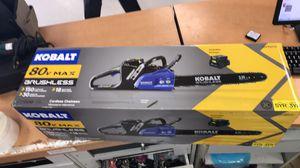 """Kobalt 80v max 18"""" brushess cordless chainsaw for Sale in Orlando, FL"""