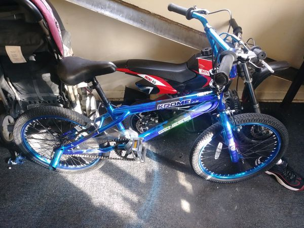Kids trick bike
