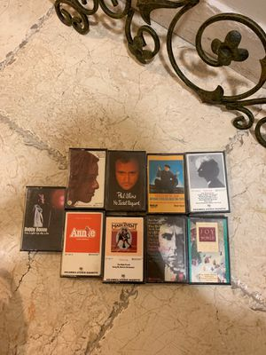 9 cassette tapes in mint condition for Sale in Fort Lauderdale, FL