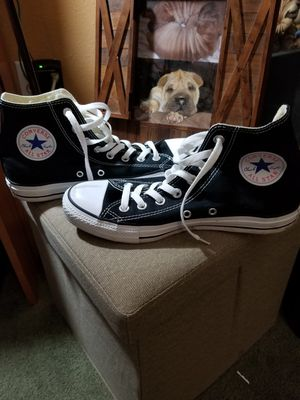 Converse Black All star high tops for Sale in Tulalip, WA