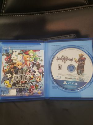 Great condition! Kingdom Hearts ps4 game for Sale in City of Industry, CA