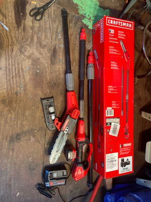 Pole saw battery powered for Sale in Morrisville, PA