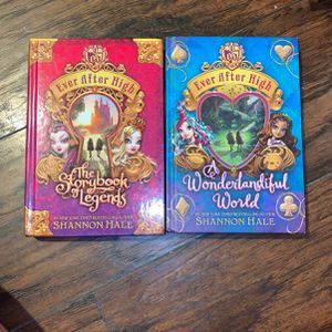 Ever After High Books 1 &3 for Sale in Sacramento, CA