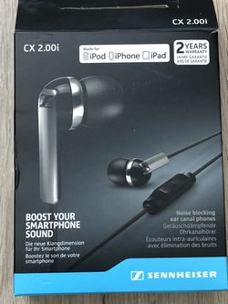 Sennheiser CX 2.00i In-ear Earbuds for Sale in Los Angeles,  CA