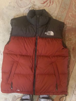 North face men's vest size large for Sale in Washington, DC