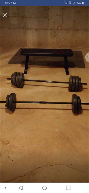 In home gym set for Sale in Elma, WA