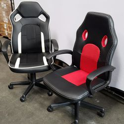 BRAND NEW $65 each Gaming Chair High Back PU Leather Home Office Computer Chair Racing Seat Style Game Chair Height Adjustable Recline  for Sale in Pico Rivera, CA
