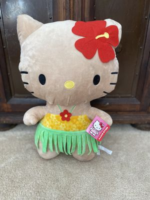 COMPLETELY BRAND NEW WITH TAGS JUMBO PLUSH SANRIO HAWAIIAN HELLO KITTY!! STANDS 2 FEET TALL!! for Sale in San Diego, CA