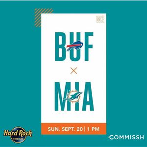 Miami Dolphins Vs Buffalo Bills for Sale in Hialeah, FL