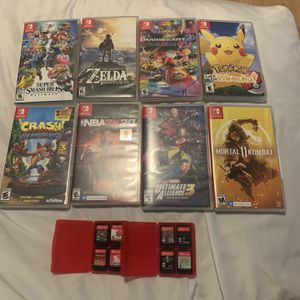 Nintendo Switch Games for Sale in Fountain Valley, CA