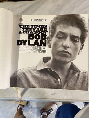 Bob Dylon lyric, special edition for Sale in Ithaca, NY