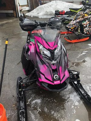 Wrap made by Deviant Ink. for a Snowmobile for Sale in Wolcott, CT