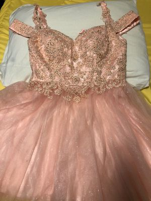 Juniors blush pink party dress for Sale in Joliet, IL