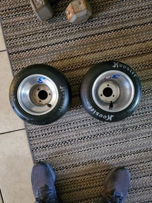 Go kart rims and tires only 2 for Sale in Chandler, AZ