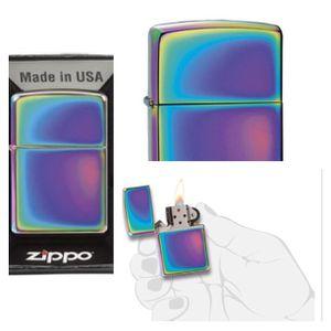 $15 - Zippo Classic Multi-Color (Spectrum) Lighter for Sale in Seattle, WA