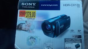 Sony handyman camcorder the HDR-CX130 for Sale in Nettleton, MS