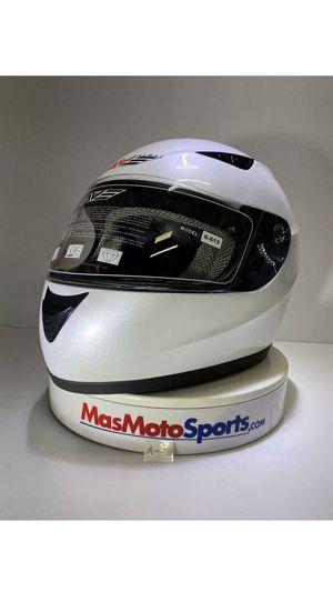 Motorcycle Helmet. DOT Certified. Full Face. Pearl White for Sale in Doral, FL