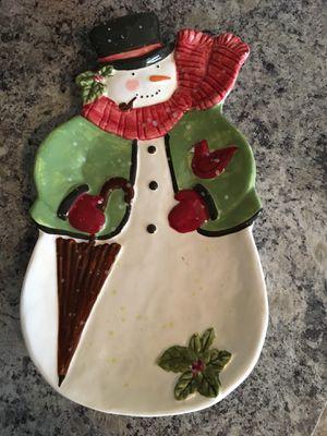Vintage Susan Winget Christmas plate for Sale in Ashburn, VA