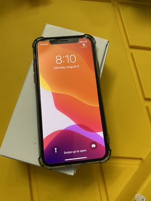iPhone X 64 GB space gray factory unlocked any carrier for Sale in Chula Vista, CA