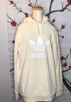 Cream Adidas Treefoil Hoodie for Sale in Oakland, CA