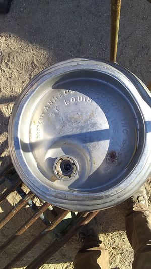 Anheuser-Busch St Louis Missouri beer keg for Sale in Pearblossom, CA