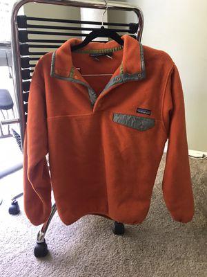 Classic Patagonia Pumpkin Orange Fleece Pullover for Sale in San Diego, CA
