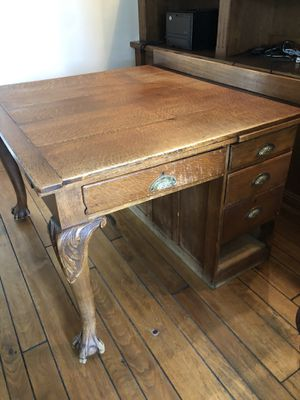 Antique partners desk. Vintage for Sale in Irvine, CA