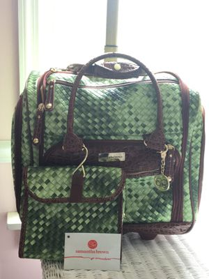 Samantha Brown -go somewhere- carry on luggage. for Sale in Wallingford, CT