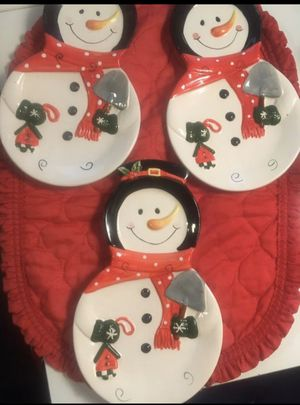 Snowman Spoon Rest ,$ 4 Each for Sale in Arcadia, CA