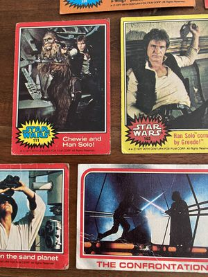 STAR WARS 1977-1980 movie cards (12 total cards) for Sale in Sacramento, CA