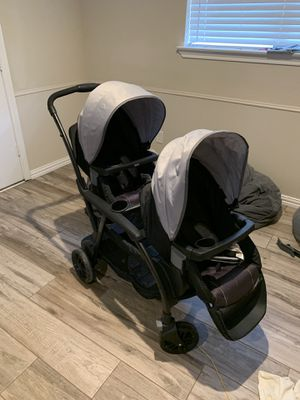 Graco Double Stroller 27 Modes for Sale in Carrollton, TX