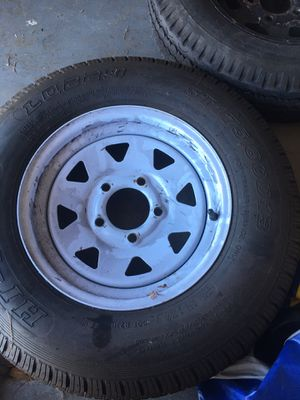 Trailer Tires/ Spare Time for Sale in Gilbert, AZ