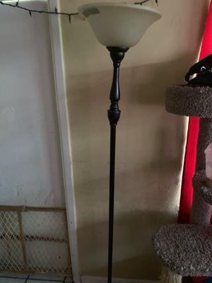 Bronze floor lamp for Sale in Tampa, FL