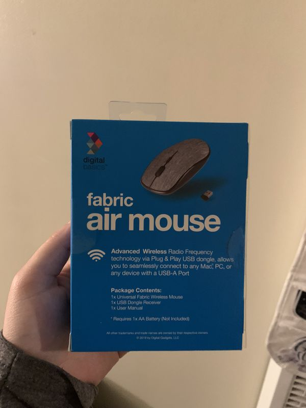 Wireless USB Fabric Computer Mouse