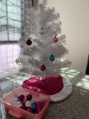 Frozen inspired mini tree for Sale in Germantown, MD