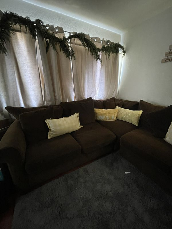 Brown Sectional From Macy's