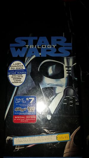 Star wars trilogy for Sale in Cleveland, OH