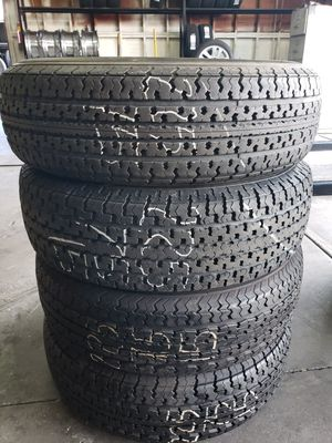 Used Tires 225 75 15 Trailer tire for Sale in Fontana, CA