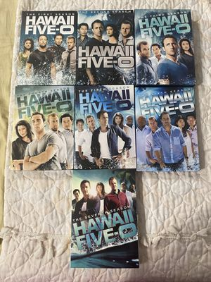 Hawaii five o seasons 1-7 new some cases are broken for Sale in Los Angeles, CA