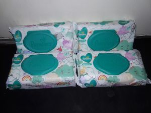 Pampers Sensitive Baby Wipes Bundle: 4 packs (224 wipes) for $6 for Sale in Garland, TX