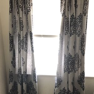 Blue Curtains (7 Panels 10$ Per Panel) for Sale in Hermosa Beach, CA