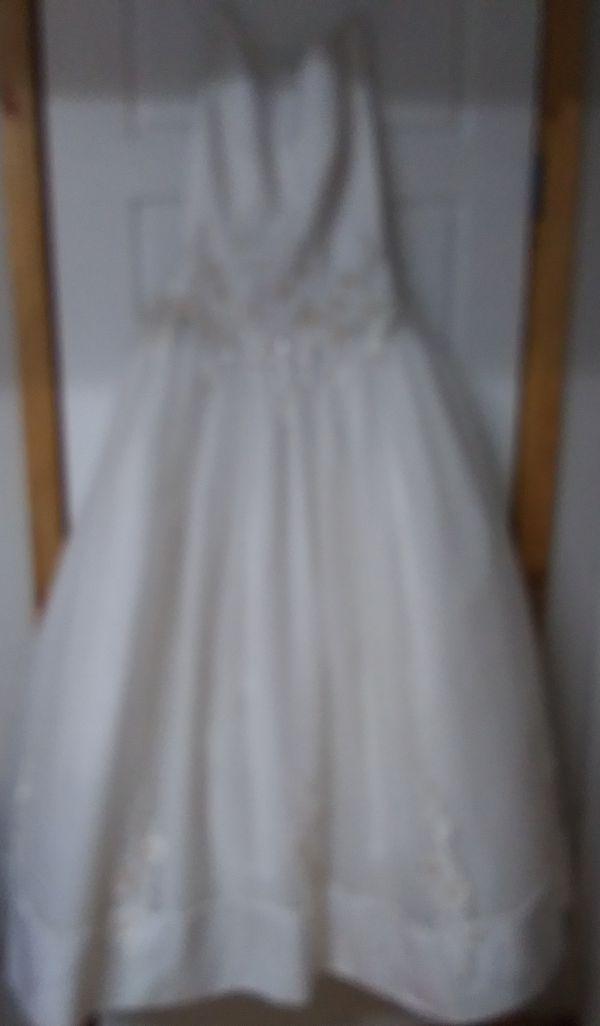 Wedding dress size 6/8