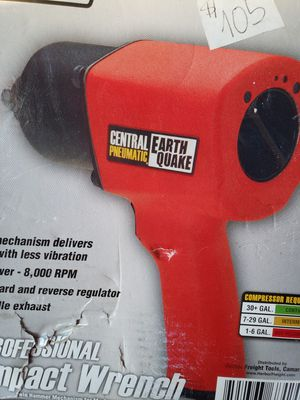 1/2 In. Professional Air Impact Wrench 68424 for Sale in Brockton, MA