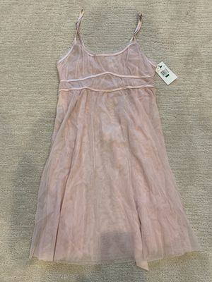 Vera Wang Sheer Pink Nightgown Size L for Sale in Park Ridge, IL