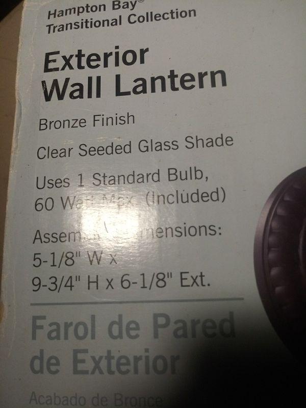 Exterior well lantern